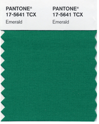 Early This Week Pantone Announced It S Choice For Color Of The Year 2017 Giving That Award To 17 5641 Emerald Green Is We Will