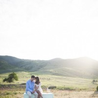 Vintage Colorado Engagement Session