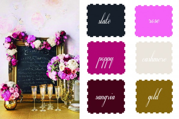 Table Talk The 6 Chicks Favorite Fall Wedding Color Palette Table