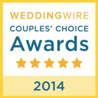 2014 WeddingWire Couples' Choice Award