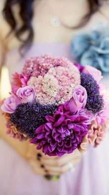 radiant orchid_bouquet