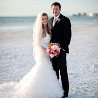 Featured on Every Last Detail – Pink & Green Florida Wedding