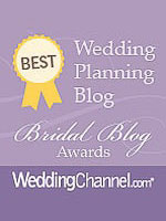 Wedding Channel Bridal Blog Awards Best Wedding Planning Blog