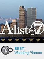Denver's A-List Best Wedding Planner