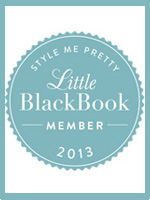 2013 Little Black Book Style Me Pretty