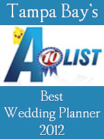 2012 Tampa A-List Best Wedding Planner