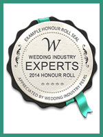 Wedding Industry Experts 2014 Honour Roll
