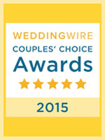 WeddingWire Couple's Choice Award 2015