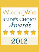 WeddingWire Bride's Choice Award 2012
