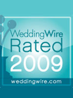 WeddingWire Rated 2009