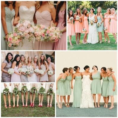 Mix & Match Your Maids – Bridesmaid Dresses