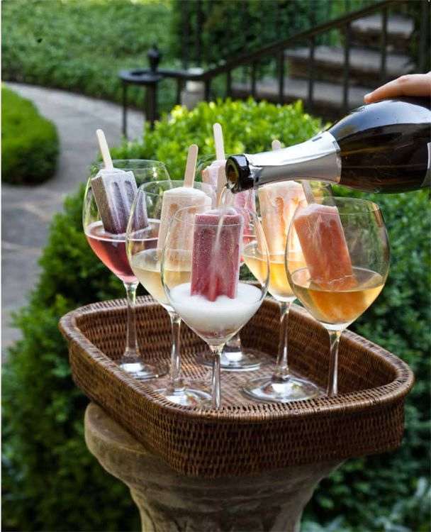 popsicle champagne