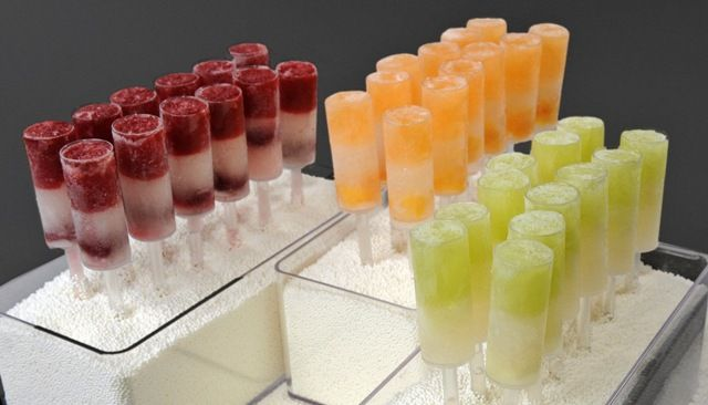 Push-Pop cocktails