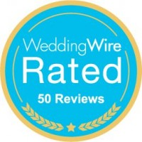 Weddingwire 50 reviews!