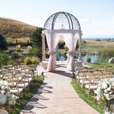 Brittany & Brandon's Marie Antoinette Wedding