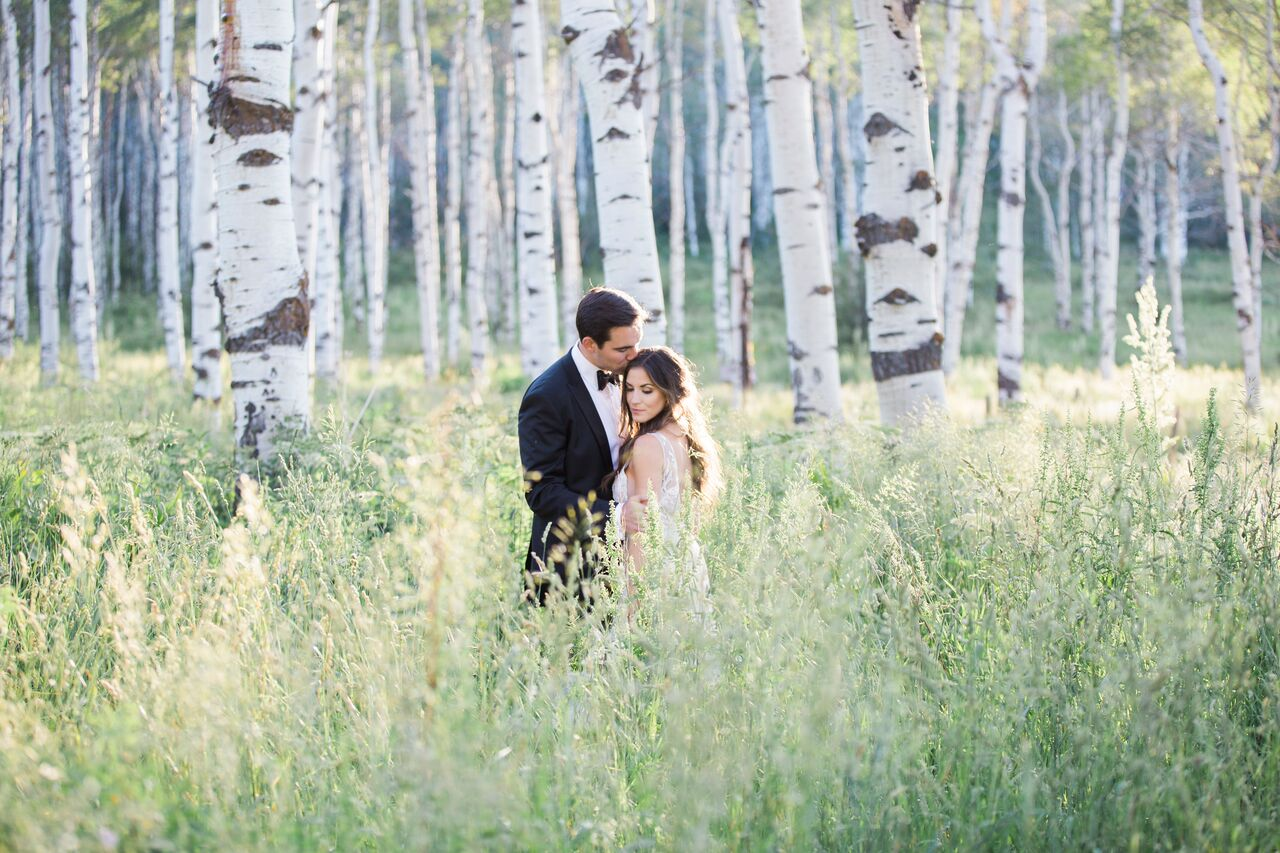 Whitney & Marco's Chic Ranch Wedding Venue