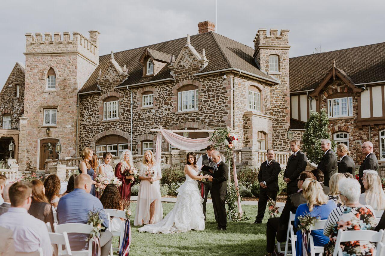Elizabeth and David's Highlands Ranch Mansion Wedding