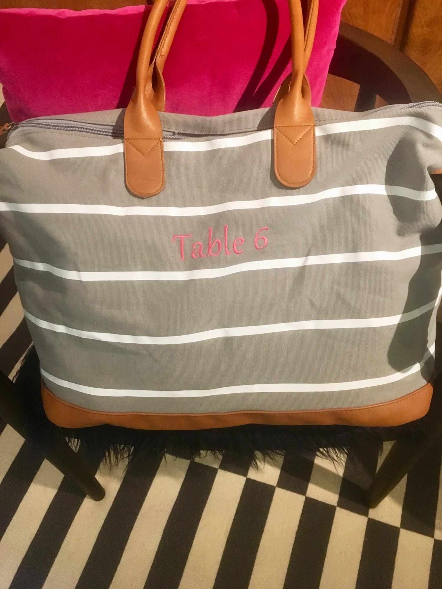 The Cutest Beach Bag for Your Bridesmaid