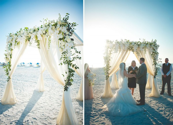 Beach Wedding Ceremony  Beach Wedding Ceremony