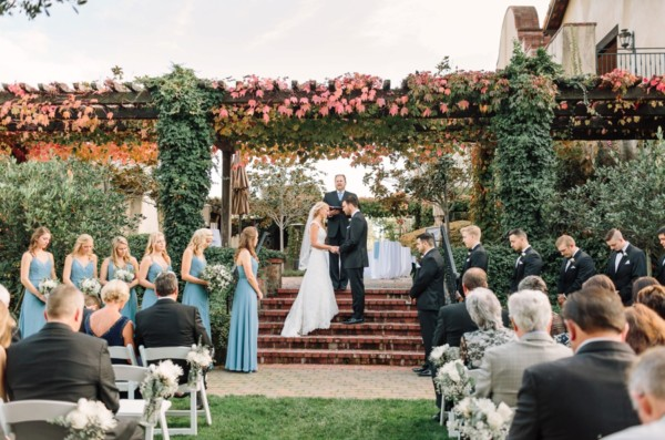 Fairmont Sonoma Inn Wedding Ceremony