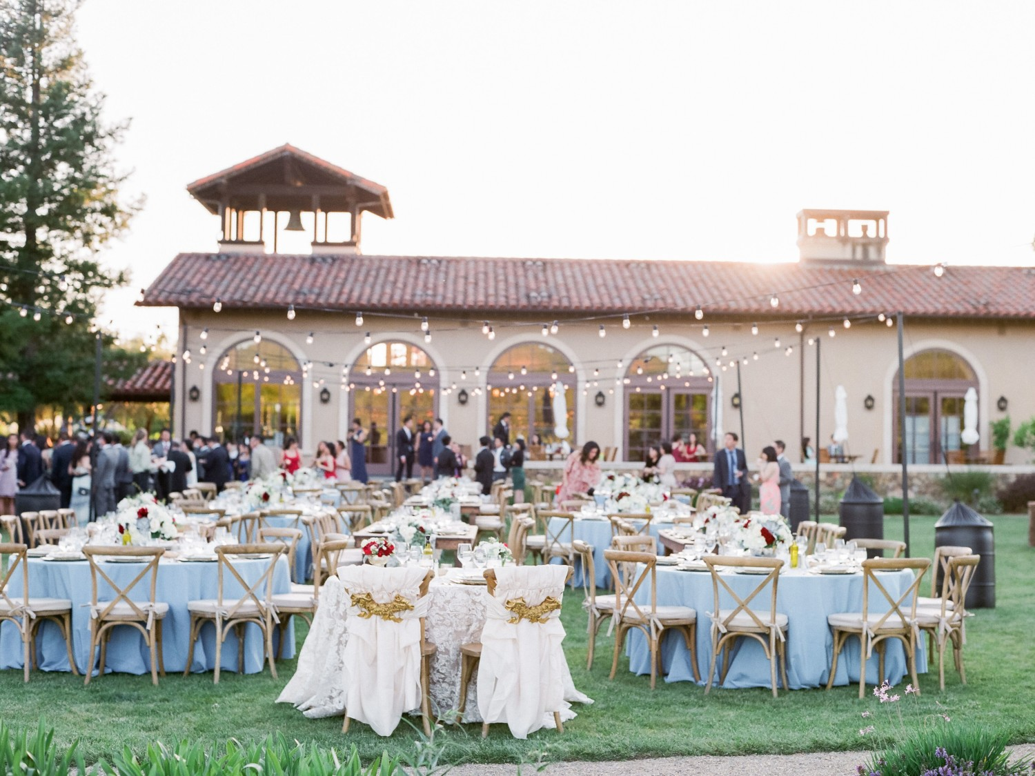 Top 13 Northern California Wedding Locations Table 6 Productions