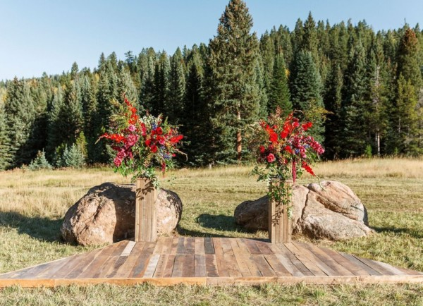 colorado wedding planner Alex & Shawn Private Ranch Evergreen, CO