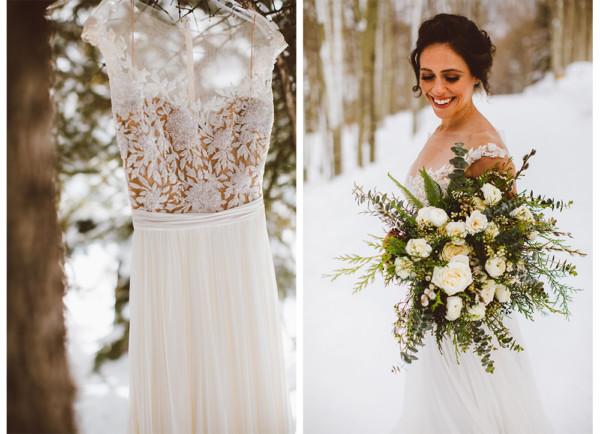 Winter Wedding Dress  Winter Wedding Dress