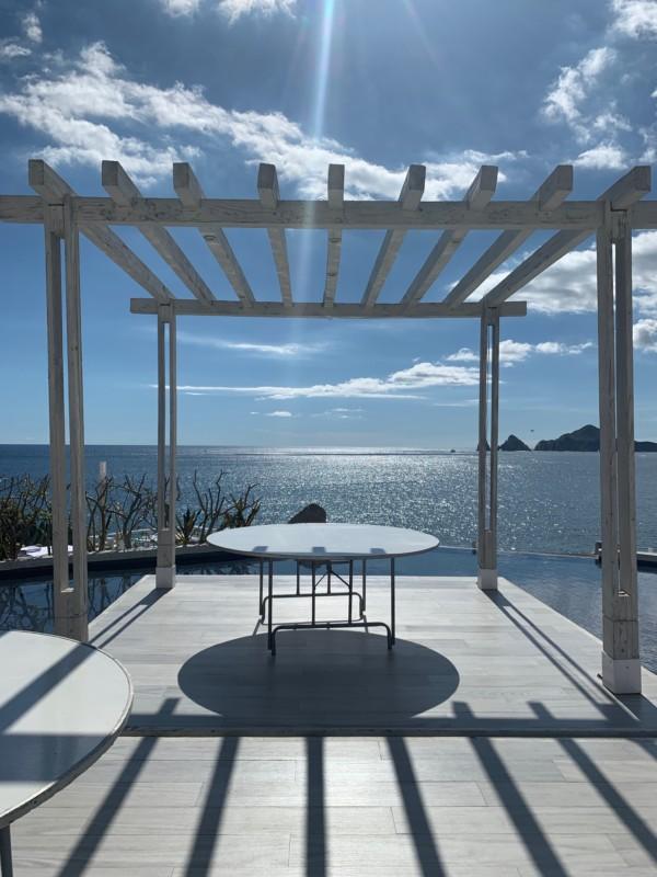 Sunset Monalisa Cabo Wedding