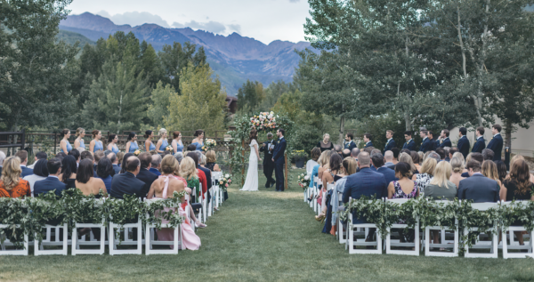 Larkspur Vail Wedding