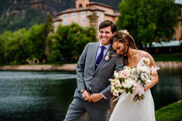 colorado wedding planner Katie & Arthur The Broadmoor Hotel Colorado Springs, CO
